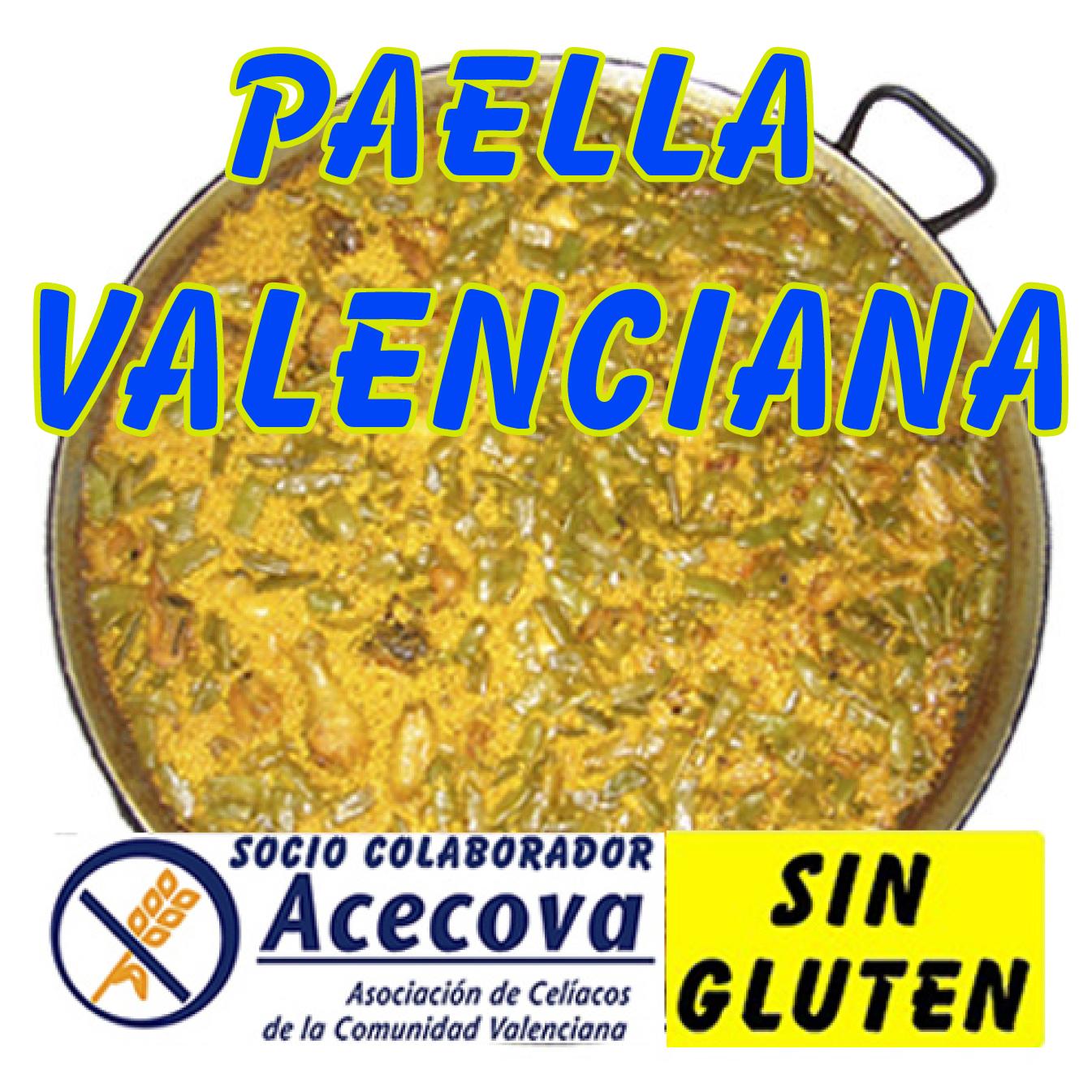 Paella valenciana de encargo